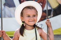 Little girl smiling Royalty Free Stock Image