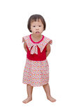 Little girl standing Royalty Free Stock Photos