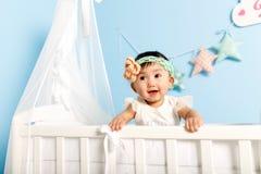 Little girl standing Stock Image