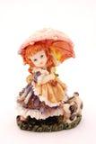 Little girl statue Stock Photos