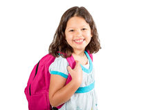 Little girl student Royalty Free Stock Images