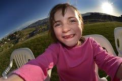 Little Girl Summer Selfie Royalty Free Stock Photography
