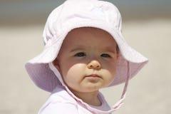 Little girl in the sun Stock Photo