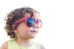 Little girl in sunglasses Royalty Free Stock Image