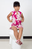 The little girl toilet Royalty Free Stock Image