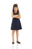 Little girl upset Royalty Free Stock Photo