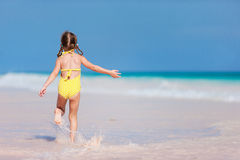 Little girl on vacation Royalty Free Stock Photo