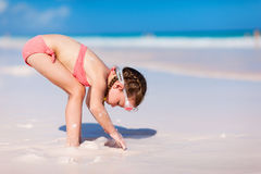 Little girl on vacation Royalty Free Stock Image