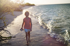 Little girl on vacation Royalty Free Stock Photography