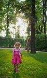 The little girl Stock Images