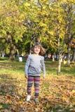 Little girl walking Royalty Free Stock Photography