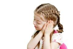 Little girl wants to sleep Stock Photo