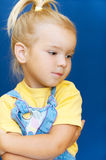 Little girl was hurt Royalty Free Stock Photos