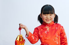 Little girl of the east Stock Images