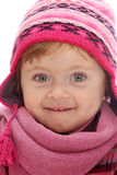 Little girl with winter hat Royalty Free Stock Photo