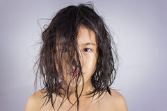 Free Little Girl With Wet Hair Royalty Free Stock Photos - 36970108