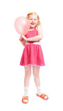 Little girl witn balloon Royalty Free Stock Photos
