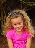 Little girl young Stock Photography