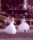 Little Girls Royalty Free Stock Photography