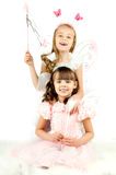 Little girls Stock Photo