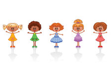Little girls Stock Images