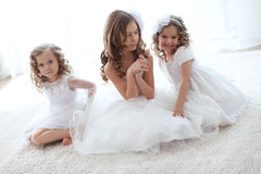 Little girls Royalty Free Stock Photo