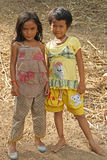 Little Girls of Cambodia Royalty Free Stock Photos