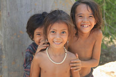 Little Girls of Cambodia Royalty Free Stock Photo