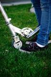Little girls feet Stock Photo