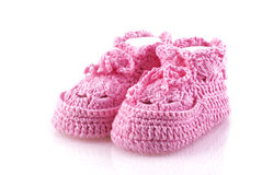 Little girls footwear. Royalty Free Stock Photography