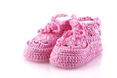Little Girls Footwear. Royalty Free Stock Photography