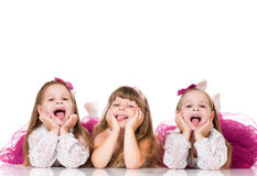 Little girls Stock Image