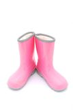 Little girls gum boots Stock Photo