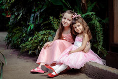 Little girls Royalty Free Stock Image