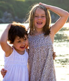 Little girls portrait Royalty Free Stock Photos