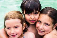 Little girls portrait Royalty Free Stock Images