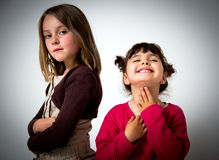 Little girls portrait Stock Photography