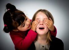 Little girls portrait Stock Images