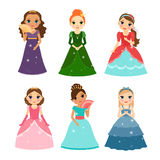 Little girls princess Stock Image