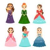 Little girls princess Stock Image