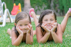 Little girls Royalty Free Stock Images
