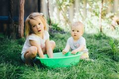 Baby Feet Wash Stock Image Image Of Dirt Foresight