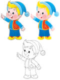 Little Gnome Stock Photography