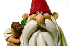 Little gnome. Gnome close up Stock Photos
