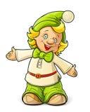 Little gnome boy Stock Photos