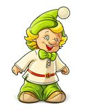 Little gnome boy Royalty Free Stock Photography
