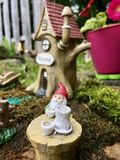 Little gnome home royalty free stock photos