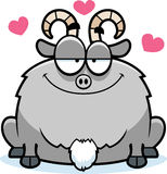 Little Goat in Love Stock Photos