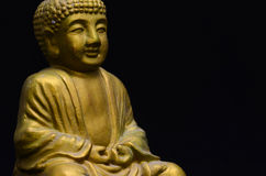 Little Golden Buddha Image Royalty Free Stock Images