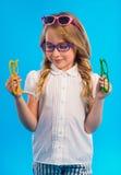 Little good girl Stock Images